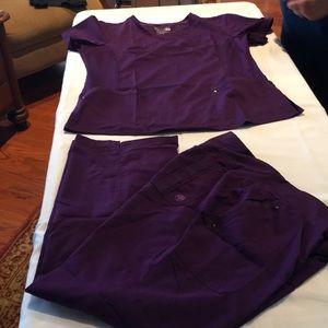 Healing Hands purple label uniform